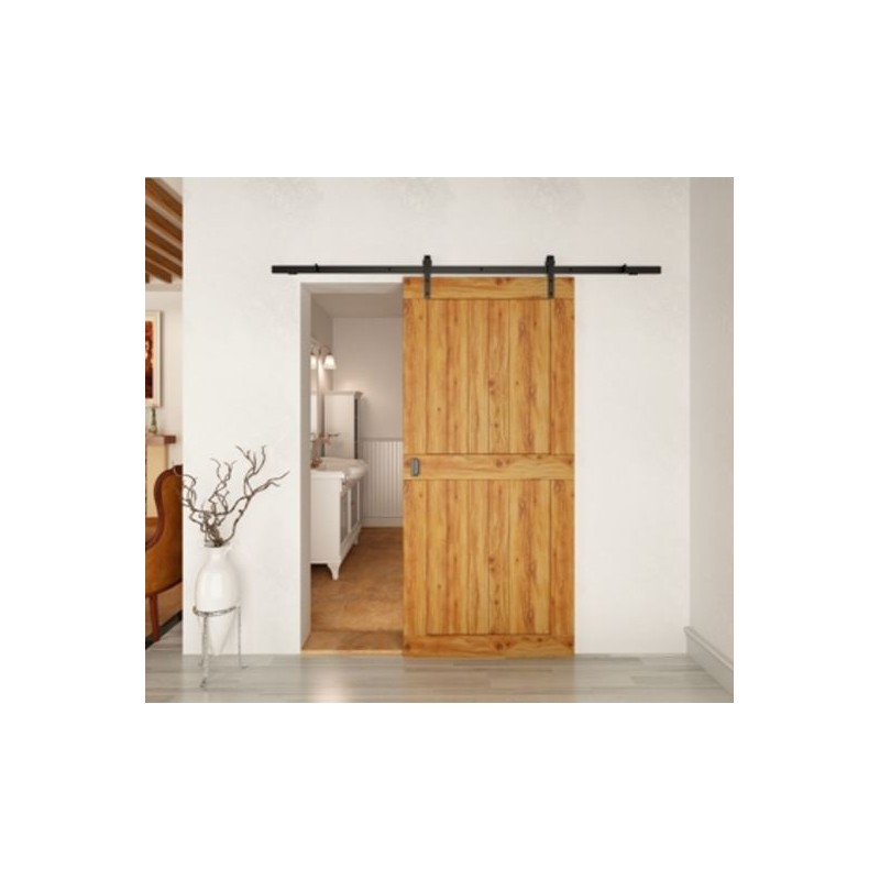 ... P C Henderson Rustic 80 Sliding Door Track 3000mm R80/30 ...  sc 1 st  Construction Supplies & P C Henderson Rustic 80 Sliding Door Gear