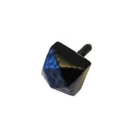 Trent Screw Fix Door Stud Black Antique