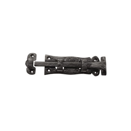 Trent 125mm Plain Straight Bolt Black Antique