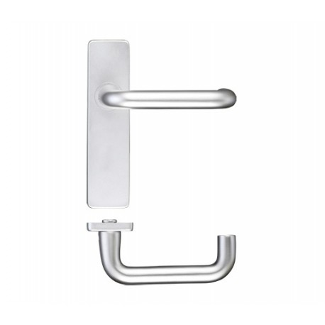 19mm Dia. Return To Door Lever on Latch Backplate S.A.A.