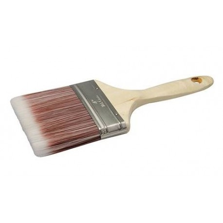 100mm Synthetic Paint Brush Suitable For Emulsion Varnish Wood Stain & Lacquer