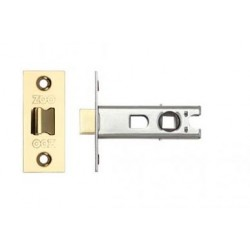 63mm Tubular Mortice Latch c/w44mm Backset Electco Brass