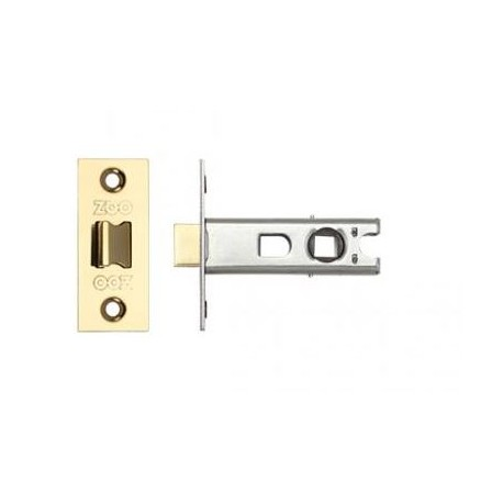 75mm Tubular Mortice Latch c/w57mm Backset Anti Tarnish Brass