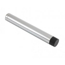 105mm Wall Mounted Cylinder Door Stop Without Rose Polished Chrome