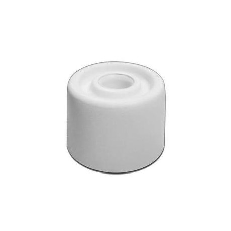 White Plastic Door Stop