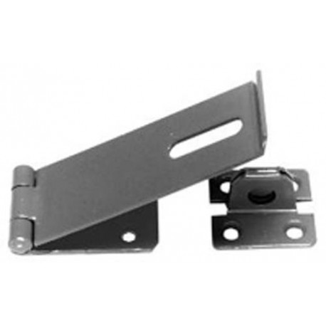 114mm Zinc Plated Safety Hasp & Staple (617)