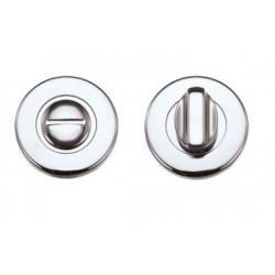52mm Dia. Bathroom Turn & Release Polished Chrome