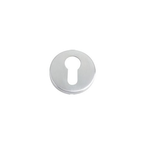 Euro Profile Escutcheon Satin Stainless Steel