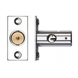 37mm Window Security Bolt c/w 17mm Backset Polished Chrome