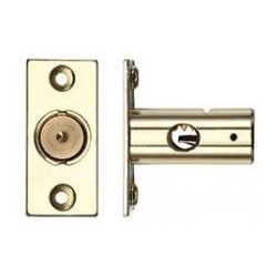 37mm Window Security Bolt c/w 17mm Backset  Electro Brass