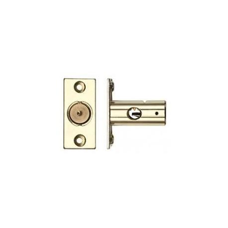 37mm Window Security Bolt c/w 17mm Backset  Electro Brass