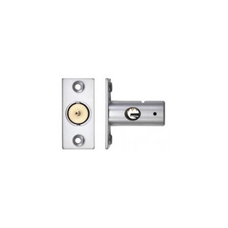37mm Window Security Bolt c/w 17mm Backset Satin Chrome