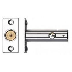 60mm Door Security Bolt c/w 32mm Backset Polished Chrome