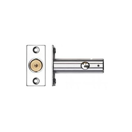 60mm Door Security Bolt Polished Chrome