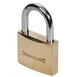 50mm Padlock Brass