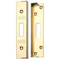 12mm Rebate Kit To Suit Euro or Oval Profile Deadlock Case Polished Brass