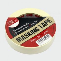 25mm General Purpose Masking Tape 50 Metre Roll