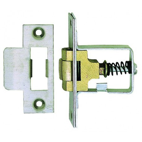 "2"" (50mm) Heavy Duty Roller Bolt Latch - Stainless Steel"