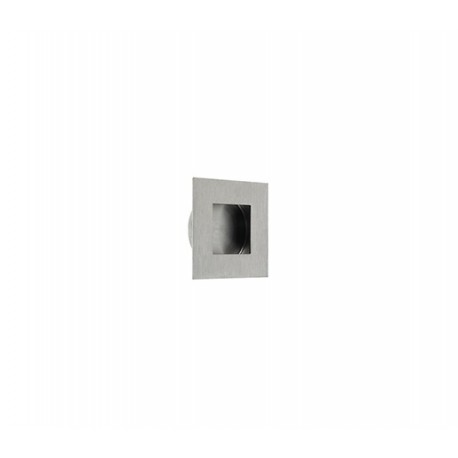 30mm x 30mm Square Flush Pull Satin Stainless Steel