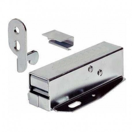 Jedo Auto Touch Latch Zinc Plated