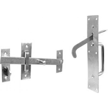 Suffolk Latch Zinc Plated