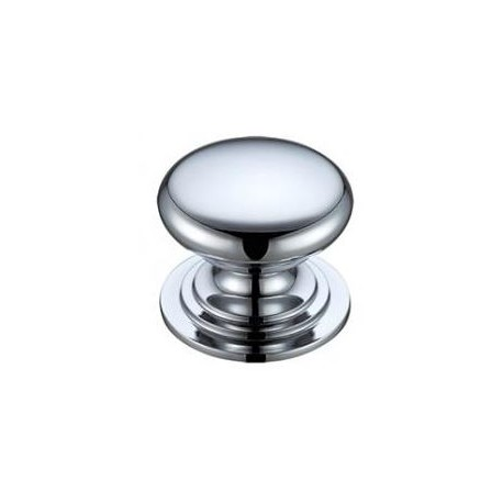 38mm Victorian Cabinet Knob Polished Chrome