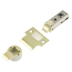 UNION Fastlatch Push Fit Tubular Latch Polished Brass