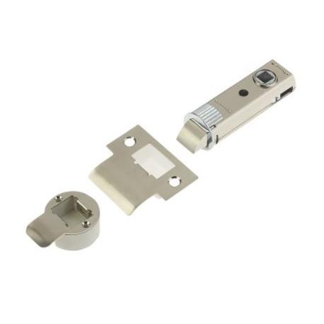 UNION 73mm Fastlatch Push Fit Tubular Latch Satin Nickel