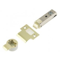 UNION 73mm Fastlatch Push Fit Tubular Latch Polished Brass