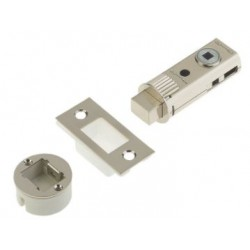 UNION 60mm Fastlatch Bathroom Privacy Tubular Deadbolt Satin Nickel
