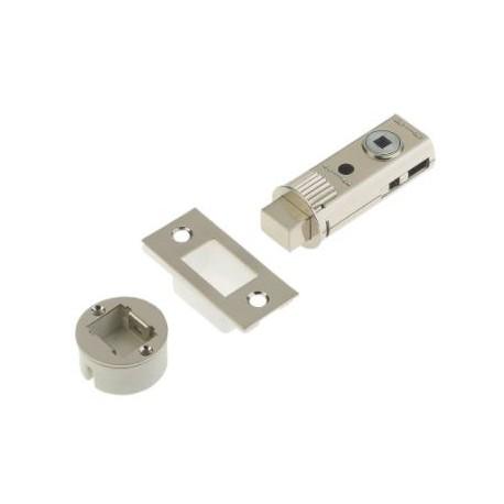 UNION 60mm Fastlatch Bathroom Privacy Tubular Deadbolt Satin Nickel