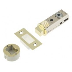 UNION 60mm Fastlatch Bathroom Privacy Tubular Deadbolt Polished Brass