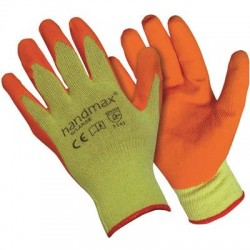 Oregon Handmax Orange Builder Gloves Extra Large Size 10