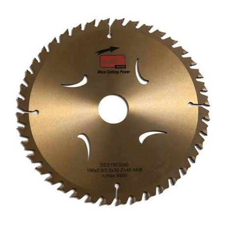 DART Gold ATB Wood Saw Blade 235mm Dia. x 30mm Bore x 40 Teeth