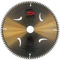 DART Gold ATB Wood Saw Blade 250mm Dia. x 30mm Bore x 60 Teeth