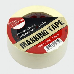 50mm General Purpose Masking Tape 50 Metre Roll
