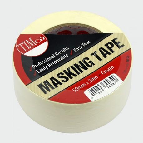 50mm General Purpose Masking Tape 50 Metre Roll