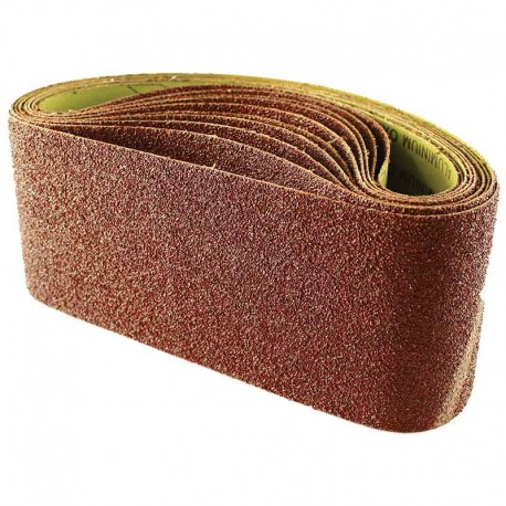 610mm x 100mm Aluminium Oxide 60 Grit Sanding Belts c/w Cloth Back