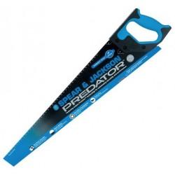"Spear & Jackson 22"" Predator First Fix Coarse Cut Hard Point Saw c/w 7pts - Blue"