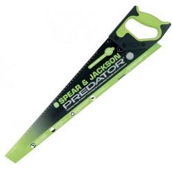 """Spear & Jackson 22"""" Predator Second Fix Fine Cut Hard Point Saw c/w 10pts - Green"""