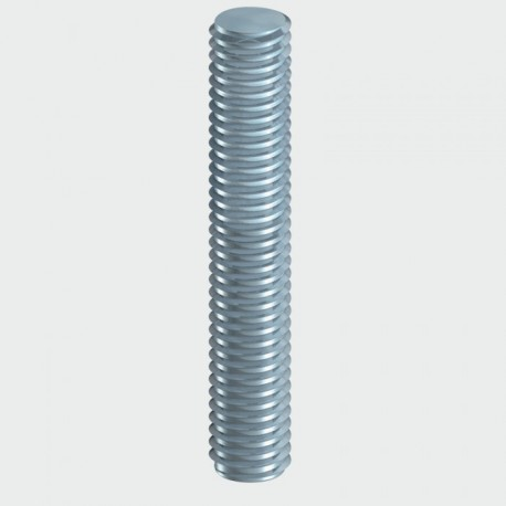 M10 x 1000mm Threaded Bar Zinc Plated