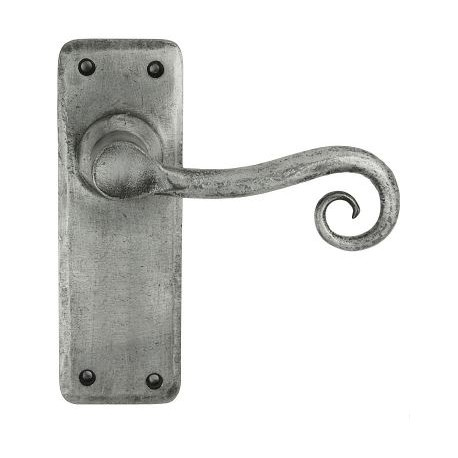 Chester Hand Forged Lever Latch Door Pewter