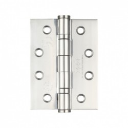 Grade 13 100mm Ball Bearing Butt Hinge Polished Stainless Steel