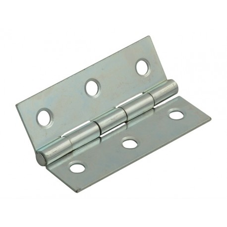 50mm Steel Butt Hinges Zinc Plated