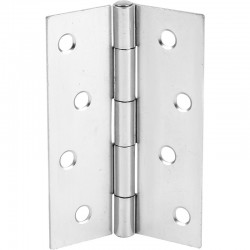 100mm Steel Butt Hinges Zinc Plated