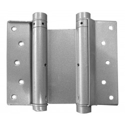 100mm Double Action Swing Hinges Silver