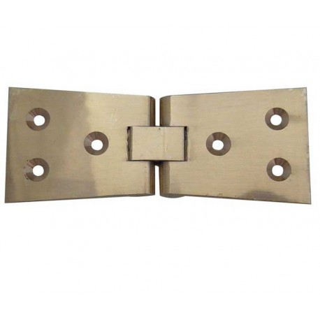 Jedo Counter Flap Hinge Polished Brass