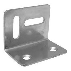 "1 1/2"" Stretcher Plates Zinc Plated"