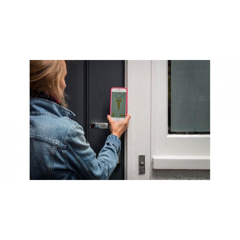 Conexis Smart Door Locks Conexis Door Handles Polished