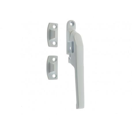 Modern Non Locking Casement Fastener c/w Wedge Plate White